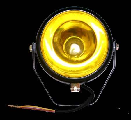 HELLA 327750051 Tilting Lamp Yellow P45 without Bulb