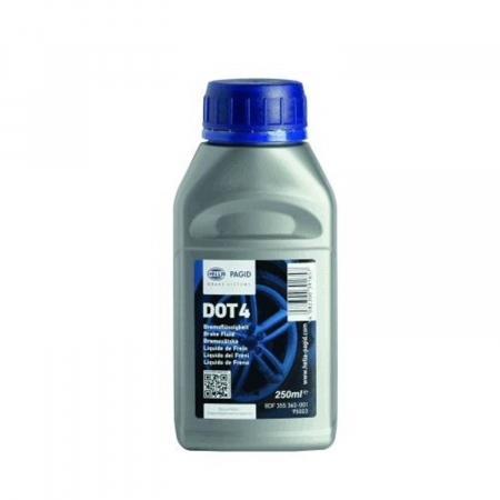 HELLA 355360001 Brake Fluid Dot-4 250ml
