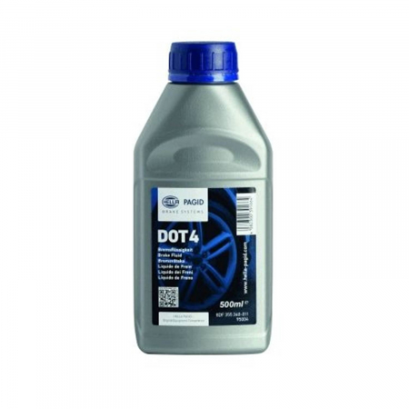 HELLA 355360011 Brake Fluid Dot-4 500ml