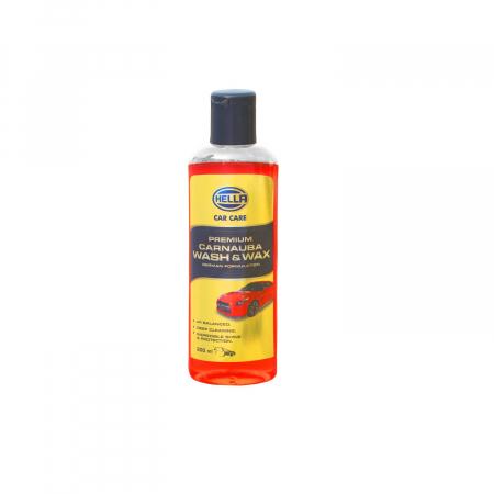 HELLA 358125001 Premium Carnauba Wash & Wax 200 ml
