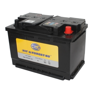 HELLA 010021321 Battery FF60* 12V 74AH DIN74