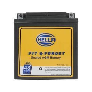 HELLA 010021491 Battery Fit N Forget 48* 5 AH