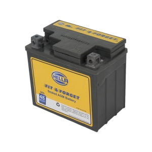 HELLA 010021521 Battery Fit N Forget 48* 4 AH