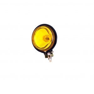 HELLA 328230011 100mm Spot Lamp Yellow Lens - 12V Application