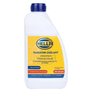 HELLA 329394021 Coolant 1:3 Conc. 1ltr Red