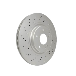 HELLA 355109411 Front  Brake Disc 203 421 13 12 For MB :C -class(W203)