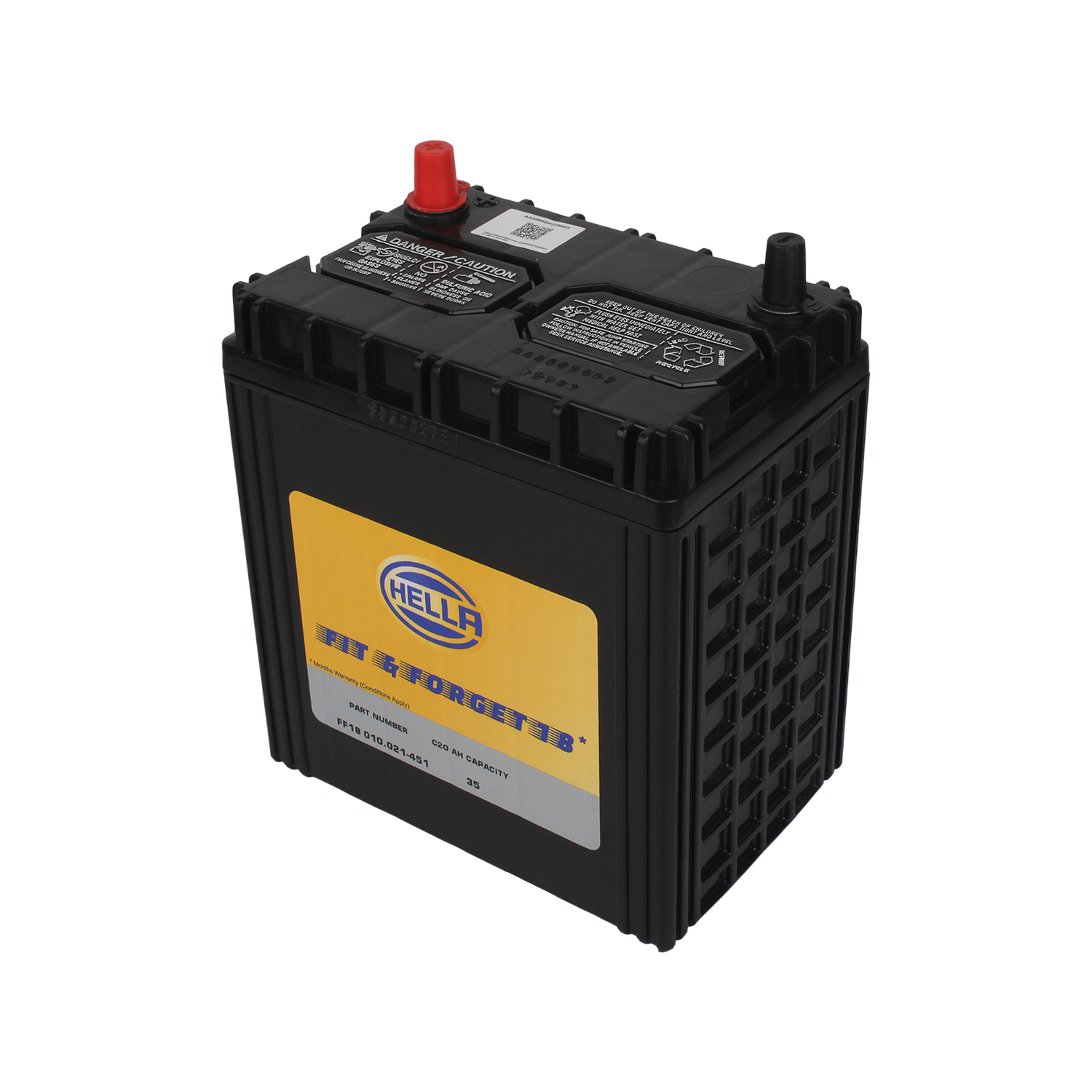 HELLA 010021451 Battery FF18 12V 35AH HE400L