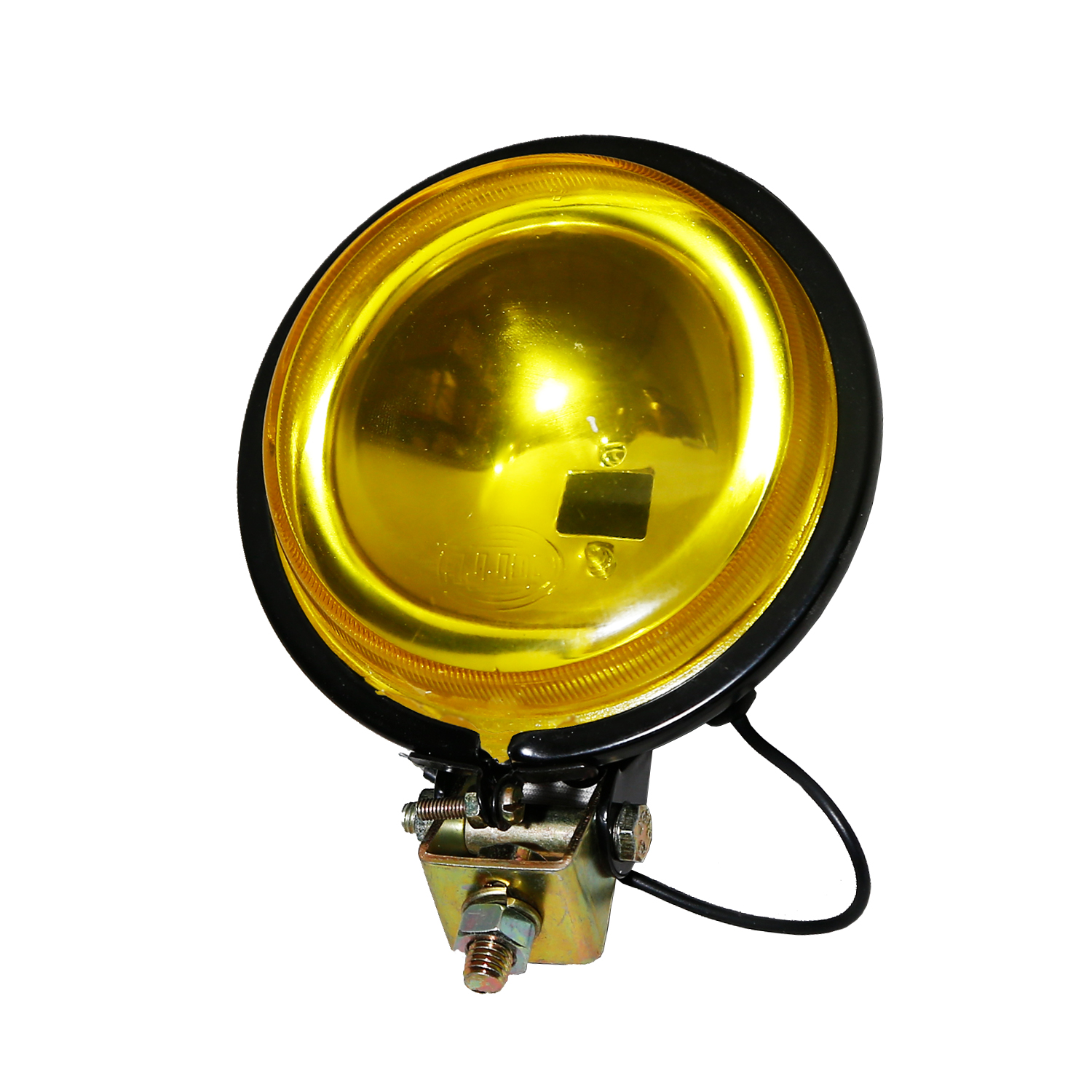 HELLA 328230031 100mm Spot Lamp Yellow Lens Without Bulb - 24V Application