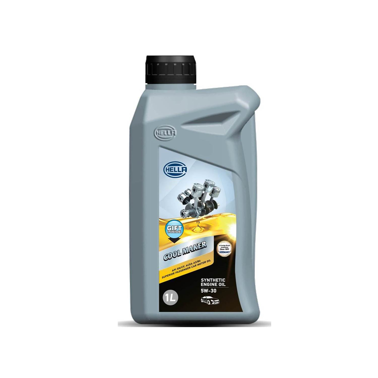 HELLA 358128201 Cool Maker 5W-30 Synthetic 1L